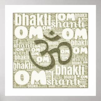 Om Shanti Poster