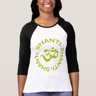 Om Shanti Shanti Shanti Women's T-Shirt Shirt