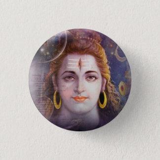 Om Shiva 3 Cm Round Badge