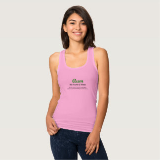 OM-slim fit tank top for ladies
