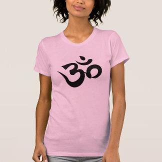 Om Sri Yantra Yoga Racerback Tee Shirt