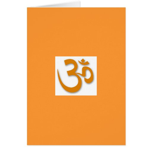 OM Store for Yoga Greeting Card