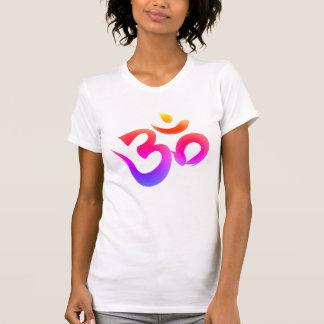 Om Symbol Bright Colors Women's Tee