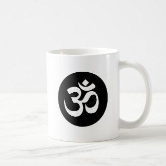 Om Symbol Circle Coffee Mug