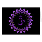 Om Symbol / Crown Chakra Card