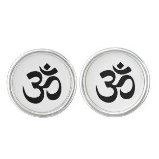 Om Symbol Cufflinks
