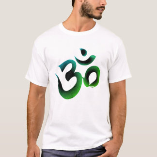 Om Symbol Green Men's Tee