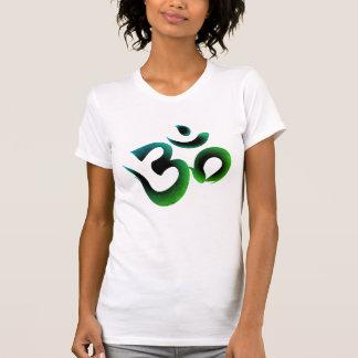 Om Symbol Green Women's Tee