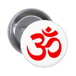 Om Symbol Mystical Sound in Hindu and Buddhism Pin
