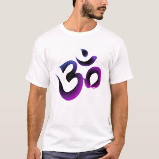 Om Symbol Purple Men's Tee