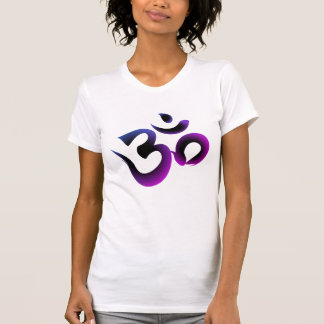 Om Symbol Purple Women's Tee