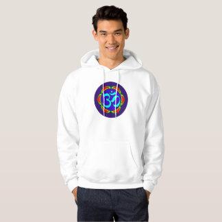 om symbol sacred Buddhism religion zen yoga flower Hoodie