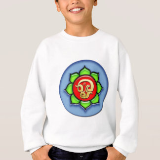 Om (Tamil) Red, Green, Blue Sweatshirt