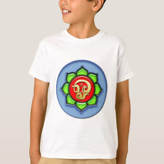 Om (Tamil) Red, Green, Blue T-Shirt