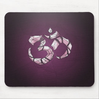 Om - the sound of the universe mouse pad