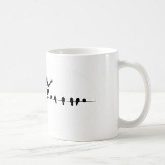 Om the Wire Coffee Mug