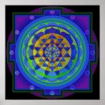 OM Yantra Mandala Print