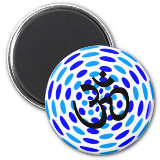 Om Yoga - Fridge Magnets