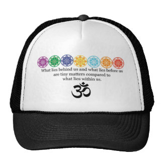 Om Yoga Tee Cap