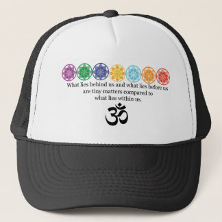 Om Yoga Tee Trucker Hat