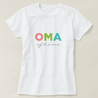 Oma of Twins T-Shirt