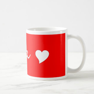Oma With Heart Coffee Mug