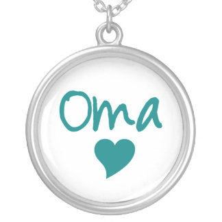 Oma With Heart Necklace