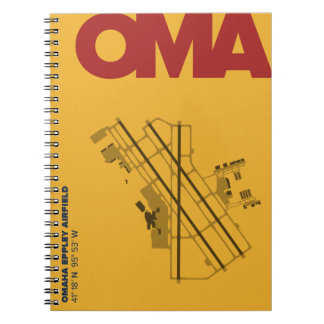 Omaha Airport (OMA) Diagram Notebook
