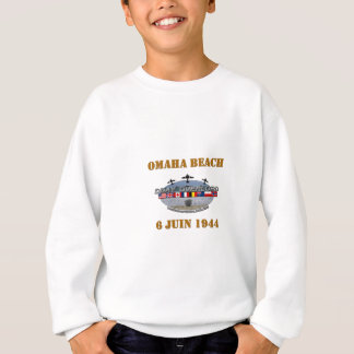 Omaha Beach 1944 Sweatshirt