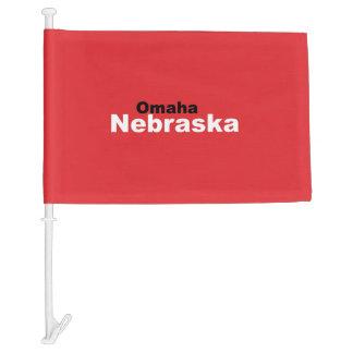 Omaha, Nebraska Car Flag