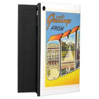 Omaha Nebraska NE Old Vintage Travel Souvenir iPad Air Covers