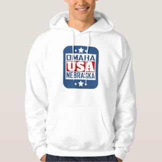 Omaha Nebraska USA Hoodie
