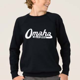 Omaha Nebraska Vintage Logo Sweatshirt