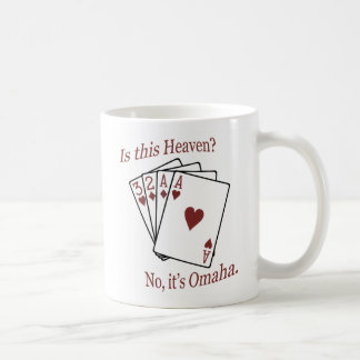 Omaha Poker Coffee Mug