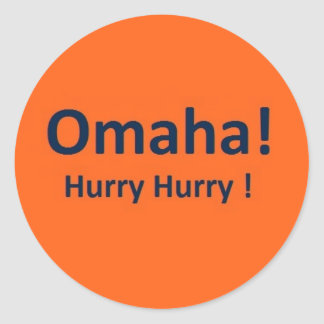 Omaha Stickers for Broncos Fans
