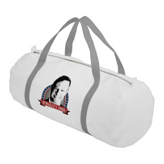O'Malley 2016 Campaign Banner Nameplate Gym Duffel Bag