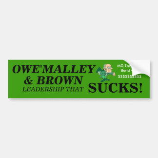 O'MALLEY  Bumper Sticker