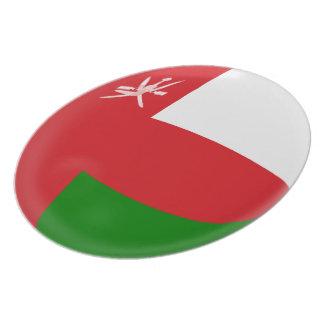 Oman Flag Plate