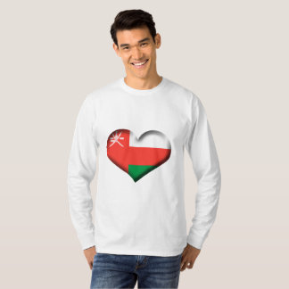 Oman Heart Flag T-Shirt