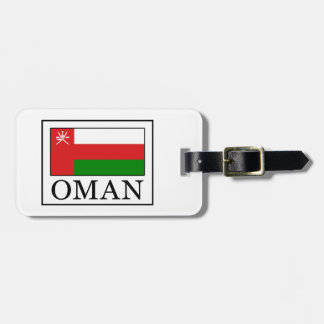 Oman Luggage Tag