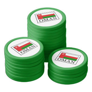 Oman Poker Chips