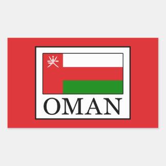 Oman Rectangular Sticker
