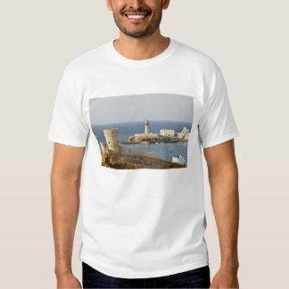 Oman, Sharqiya Region, Sur. Towers of Al Ayajh Tee Shirts