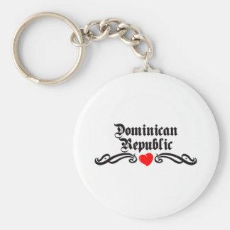 Oman Tattoo Style Basic Round Button Key Ring