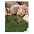 Oman Watering Hole Postcard