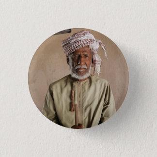 Omani Warrior: Cool Vintage Photo 3 Cm Round Badge