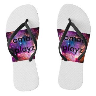omar playz sandels thongs