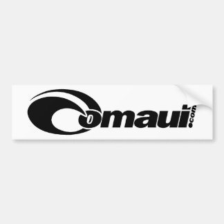 OMaui Bumper Sticker