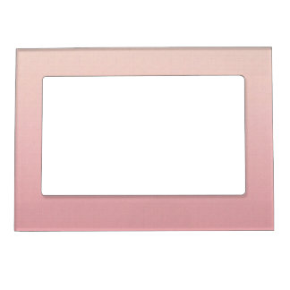 Ombre Blush Pink Magnetic Frame
