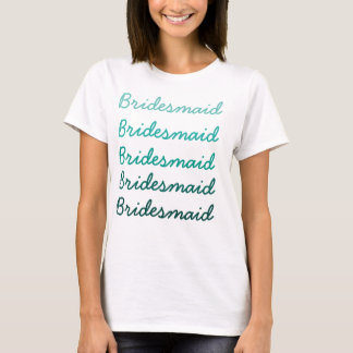 Ombre Bridesmaid T-Shirt